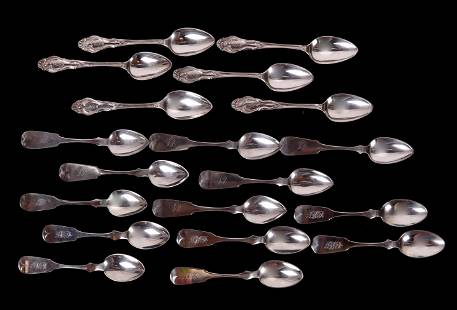 New Jersey Coin Silver and Sterling Spoons