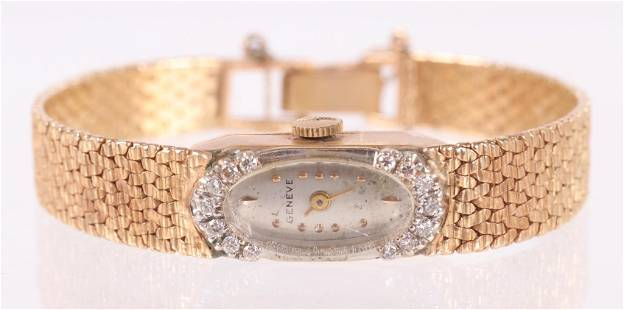 A Gold Ladies Watch, Geneve