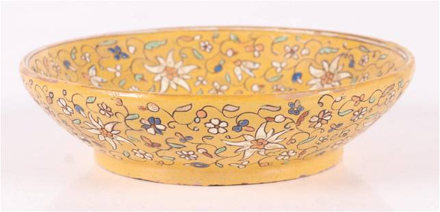 An Unusual Redware Bowl