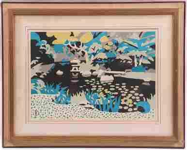Hide Kawanishi, Japanese Woodblock Print