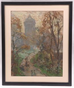 Frederick R. Wagner (1864 - 1940) Pastel
