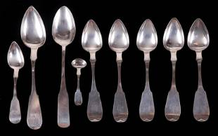 Coin Silver Spoons Maryland and West Virginia