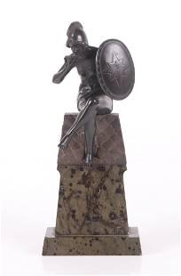 A 19th Century Bronze, Female Warrior