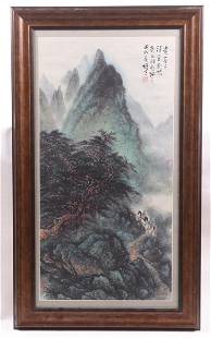 Chinese School, 20th Century, Watercolor