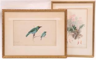 Robert Bruce Horsfall (1869-1948) Two Watercolors