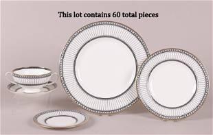 Wedgwood Porcelain Dinnerware, Colonnade Pattern