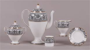 A Group of Wedgwood Porcelain, Florentine Pattern