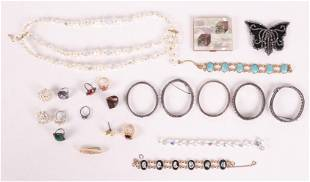 A Group of Costume Jewelry
