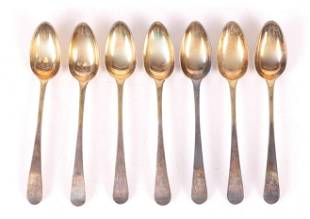 Coin Silver Spoons Joseph & Nathaniel Richardson