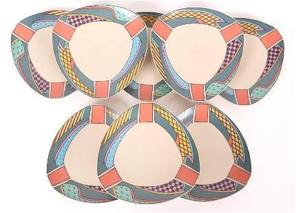 Rosenthal Porcelain Plates , Dorothy Hafner