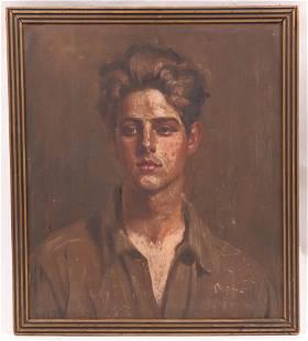 Paul Swan (1884 - 1972) Portrait
