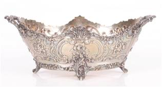 A Large Tiffany Sterling Silver Centerpiece