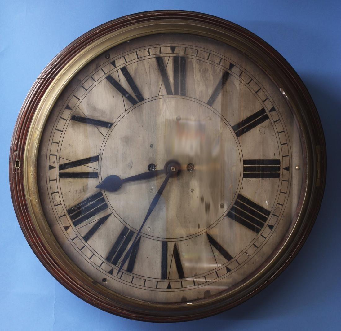 Large English Dial Clock Case.