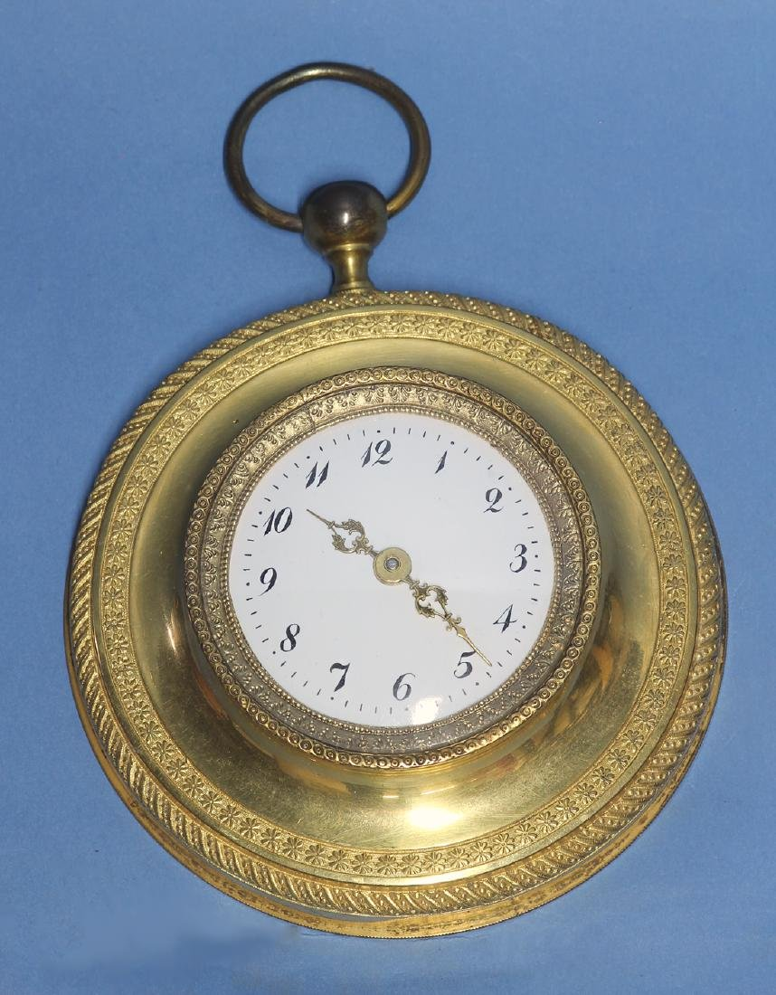 Early American 20th century Miniature Cartel Clock EF