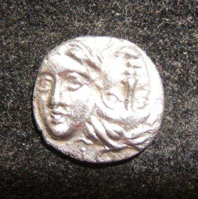 Ancient Greek Istros 1/4 Stater 400-350 BC ancient coin