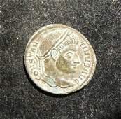Roman Imperial Constantine I AE follis VOTXX ancient