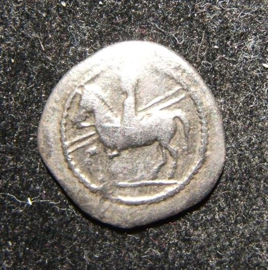 Ancient Greece Thessaly Perrhaiboi 450-400 BCE AR