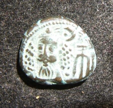 Ancient Elymais Kingdom Orodes III AE Drachm coin 2nd
