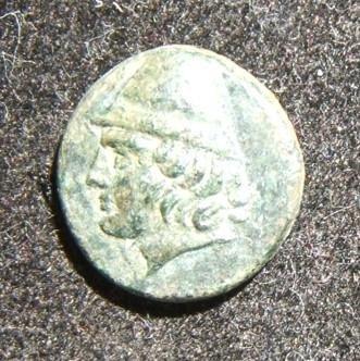 Ancient Greek Birytis AE 11 coin c.300 BCE Kabeiros