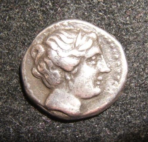 Ancient Greek Knidos Drachm 330-250 BCE ancient coin,