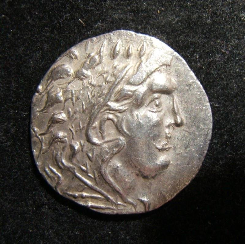 Greek Thrace Odessos AR Tetradrachm ancient coin after