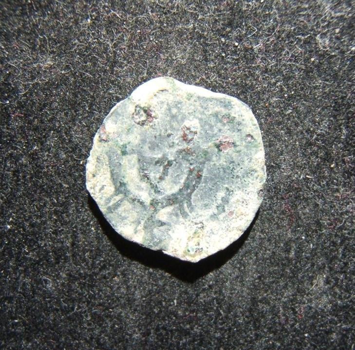 Judean Herod Archelaus ancient AE Pruta coin,