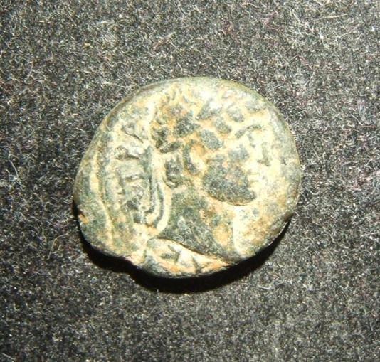 Roman Judaea/Gaza Hadrian AE coin CY 194 & Epidemia 5