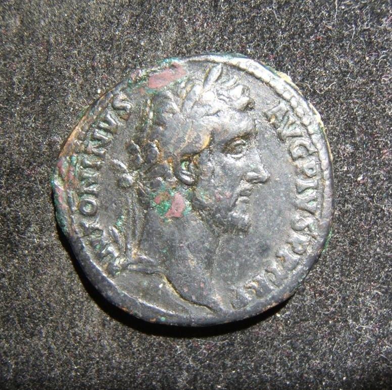 Roman Imperial Antoninus Pius ancient AE Sestertius