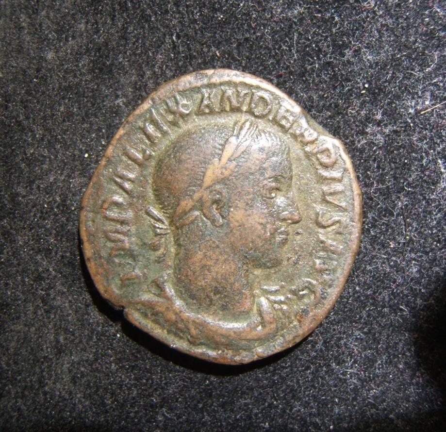 Roman Imperial Severus Alexander AE Sestertius ancient