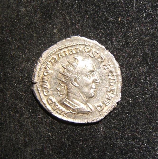 Roman Imperial Trajan Decius ancient AR Antoninianus