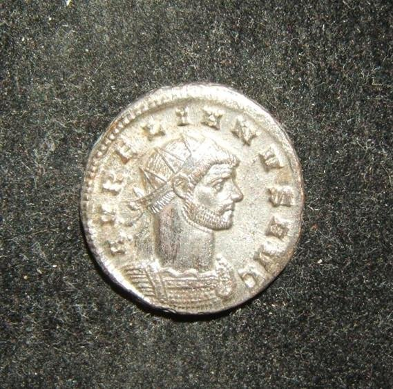 Roman Imperial Aurelian AE Antoninianus ancient coin,