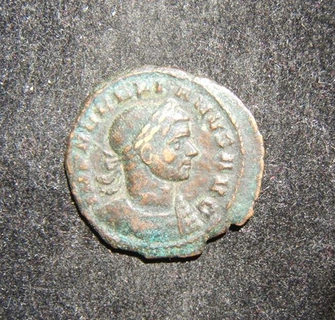 Roman Imperial Aurelian Concordia AE As ancient coin