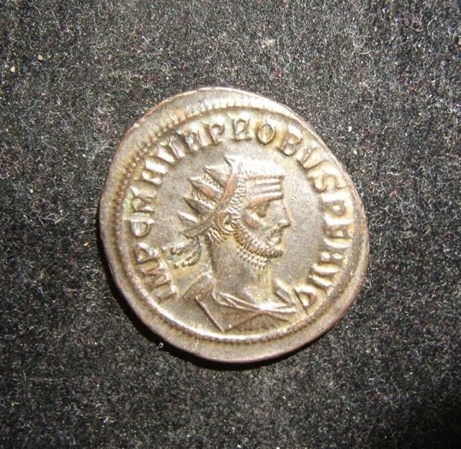 Roman Imperial Probus Antoninianus Clementia Temp