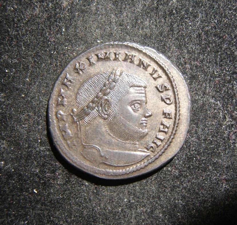 Roman Imperial Maximianus AE Follis ancient coin