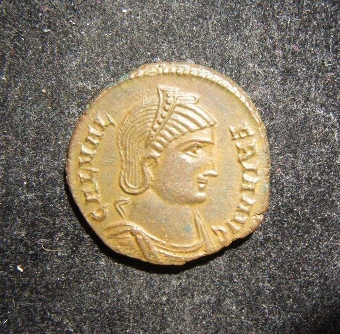 Roman Imperial Galeria Valeria AE Follis Alexandrian