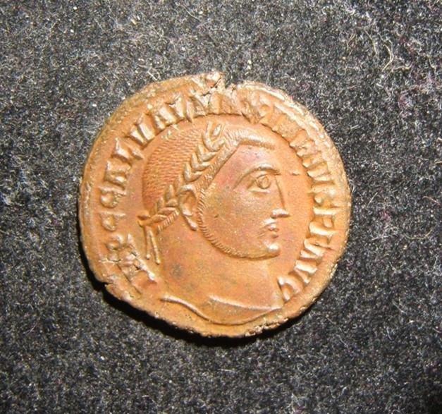 Roman Imperial Maximinus II AE reduced Follis ancient