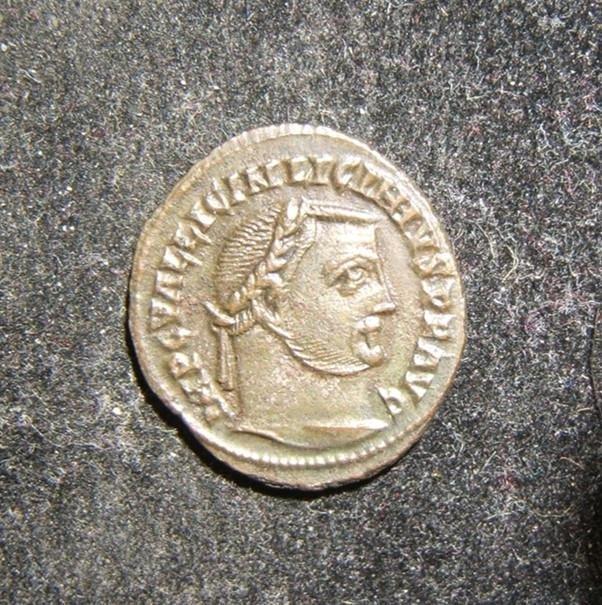 Roman Imperial Egypt Licinius I reduced Follis ancient