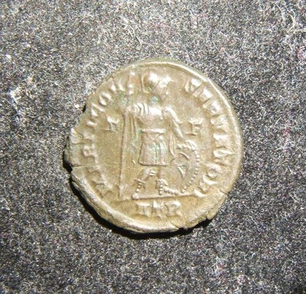 Roman Imperial Constantine I AE follis ancient coin