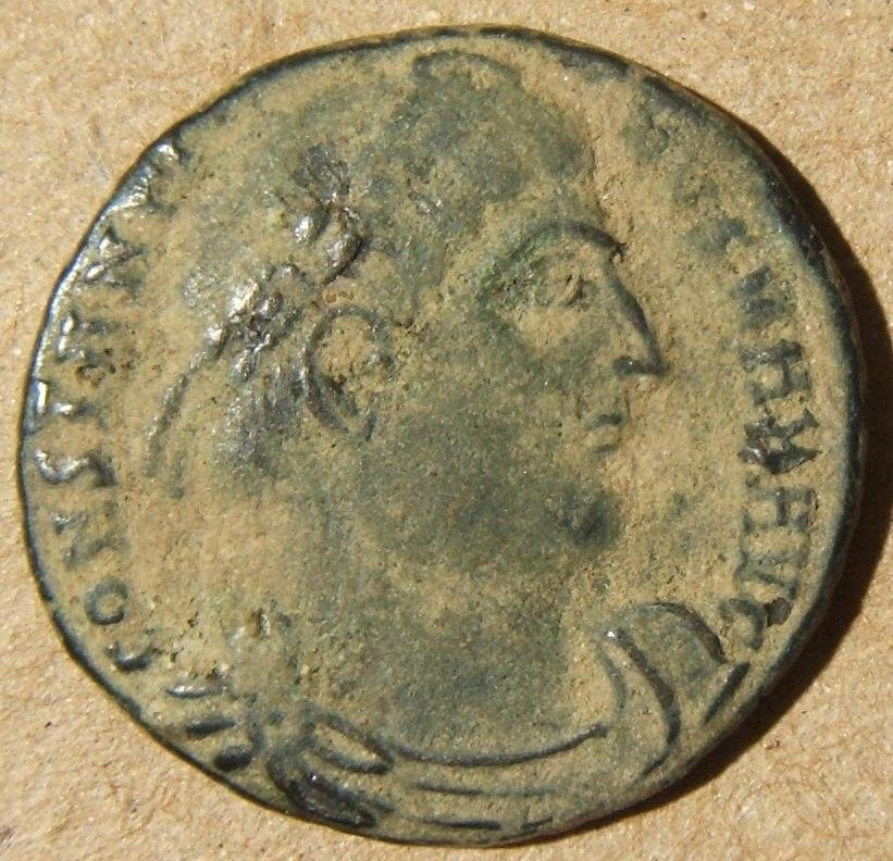 Roman imperial Heraclea Constantine I ancient AE follis