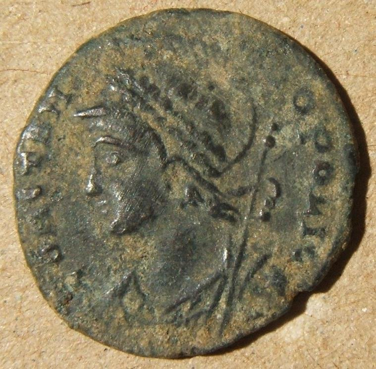 Roman imperial Alexandria city commem ancient AE follis
