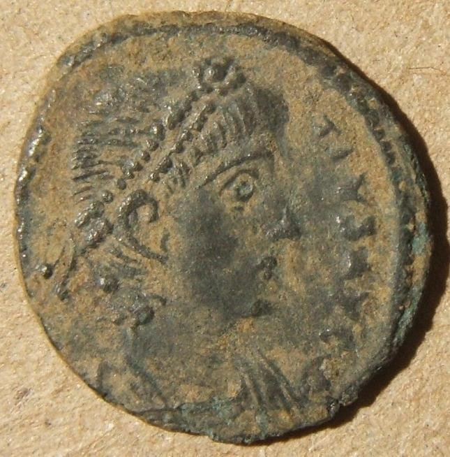 Roman imperial Antioch Constantius II ancient AE Follis