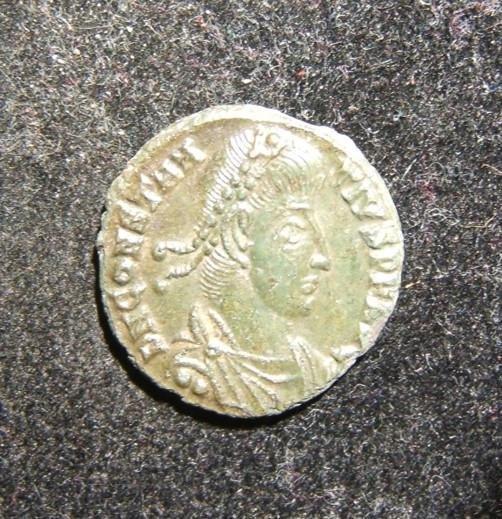 Roman Imperial Constantius II AE Follis ancient coin
