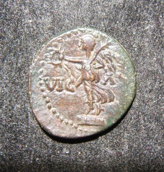 Roman Provincial Macedon Philippi ancient AE Semis coin;
