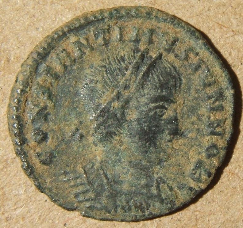 Roman Provincial Cyzicus Constantine II ancient AE3