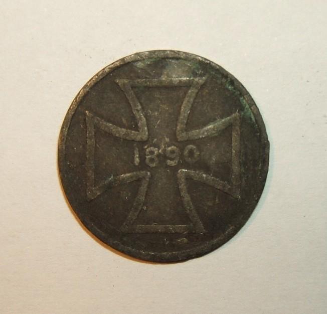 German 1890 exonumia token for 6th German Veterans Day