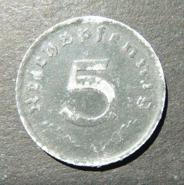 Germany 5 Pfennig 1947 A zinc Allied occupation issue