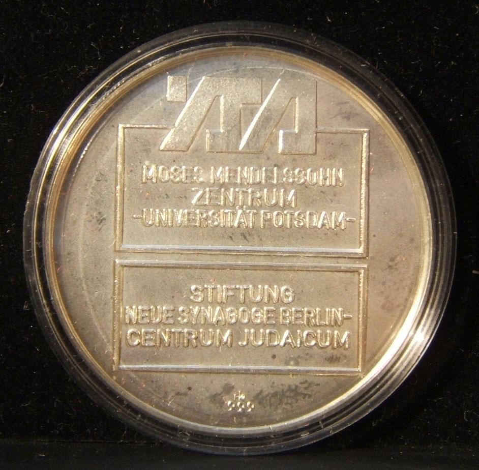 German Moses Mendelssohn Center silver award? medal in