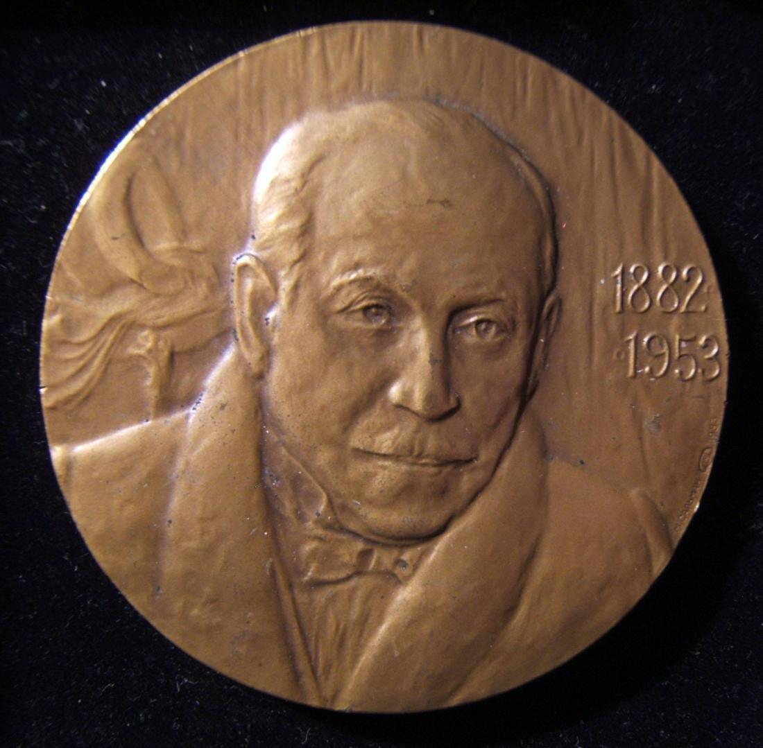 Emmerich Kalman Judaica medal by Jewish medalist Mark