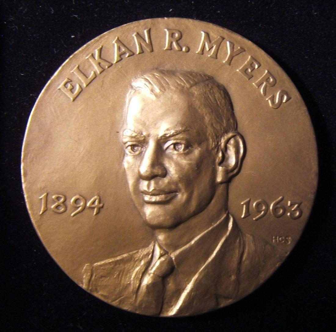 American Elkan R. Myers award Judaica medal by Medallic