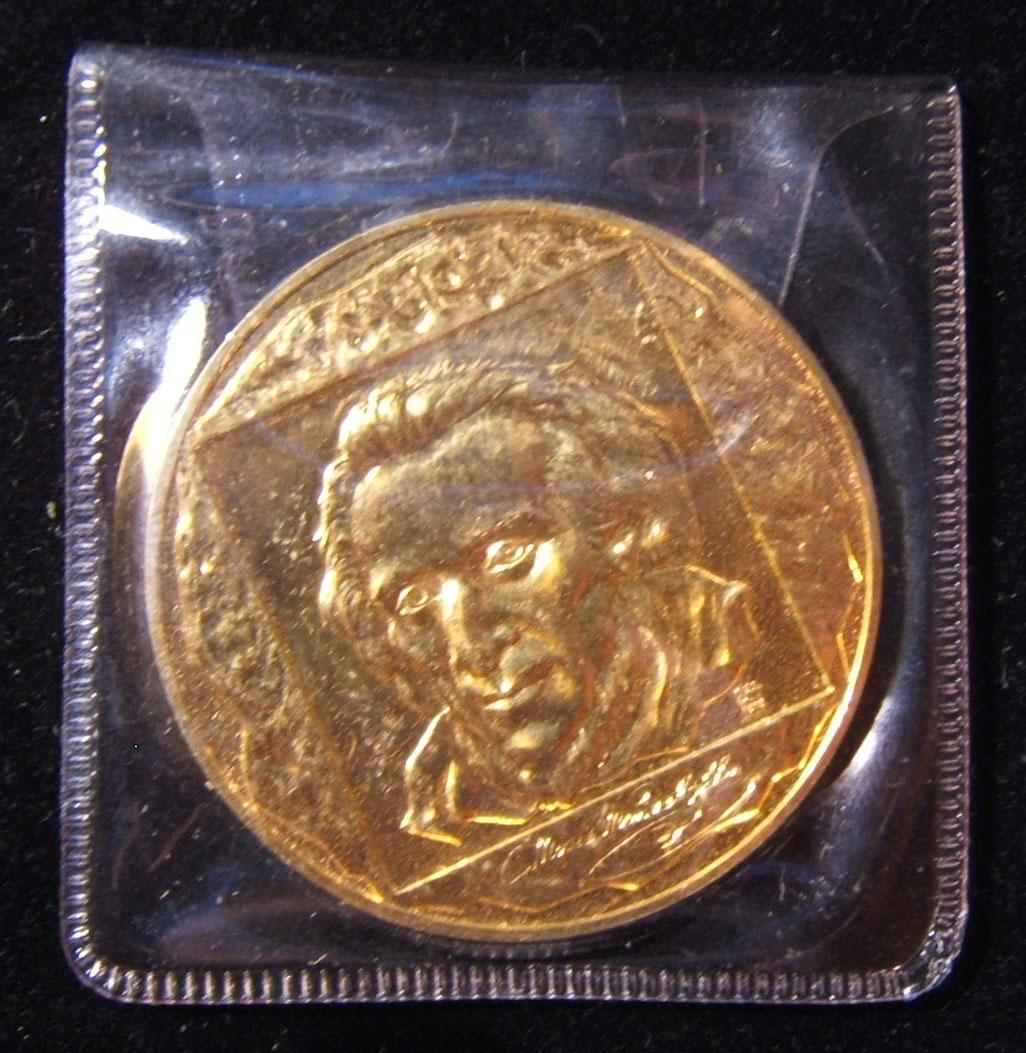 American Moses Mendelssohn proof medal; Oscar Harris